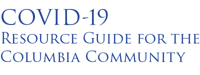 COVID-19 Resource Guide for the Columbia Community logo