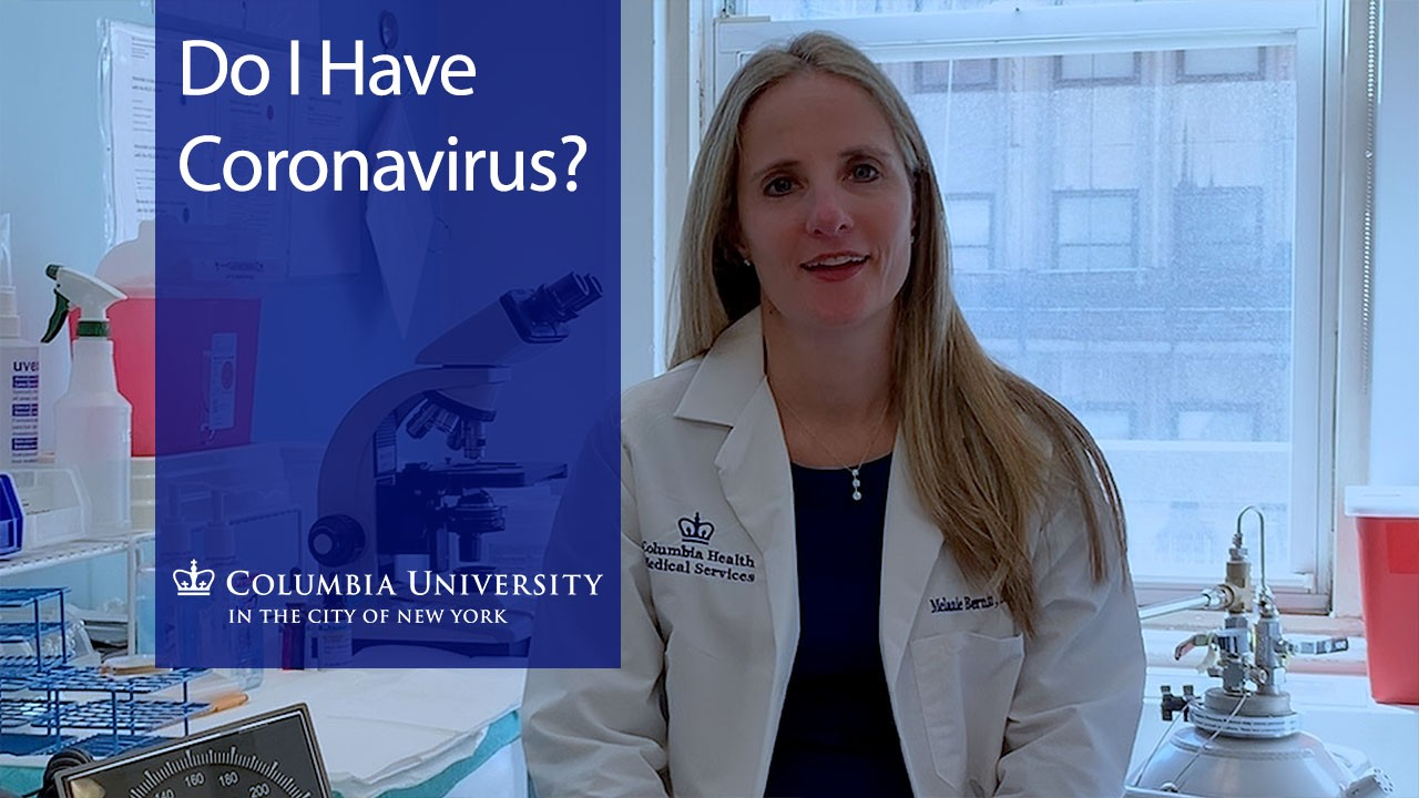 Do I Have Coronavirus by Melanie Bernitz: A woman doctor with long blonde hair, wearing a white lab coat.